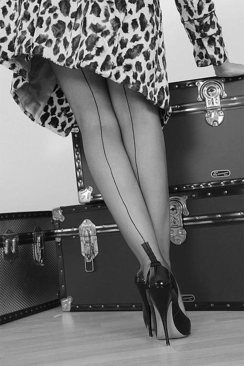 Fully Fashioned Nylon Stockings